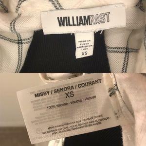 William Rast Tops - WILLIAM RAST | Carina Printed Plaid Blouse XS
